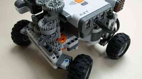 Self-parking car with LEGO Mindstorms