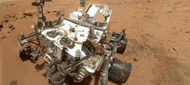 LEGO Mindstorms Mars Curiosity