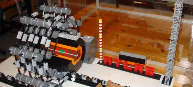 Destroy the Whole Universe with this LEGO Atlas Detector