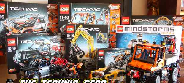 LEGO Technic Sets that I bought