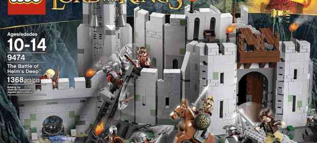 LEGO The Lord of the Rings Helm's Deep Review
