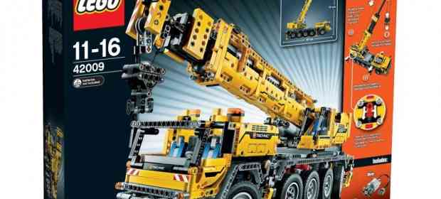 New acquisition: LEGO 42009 Mobile Crane