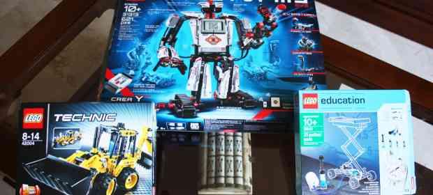 LEGO Mindstorms EV3 Unboxing