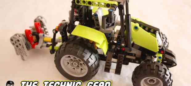 LEGO Technic Tractor 9393 Review