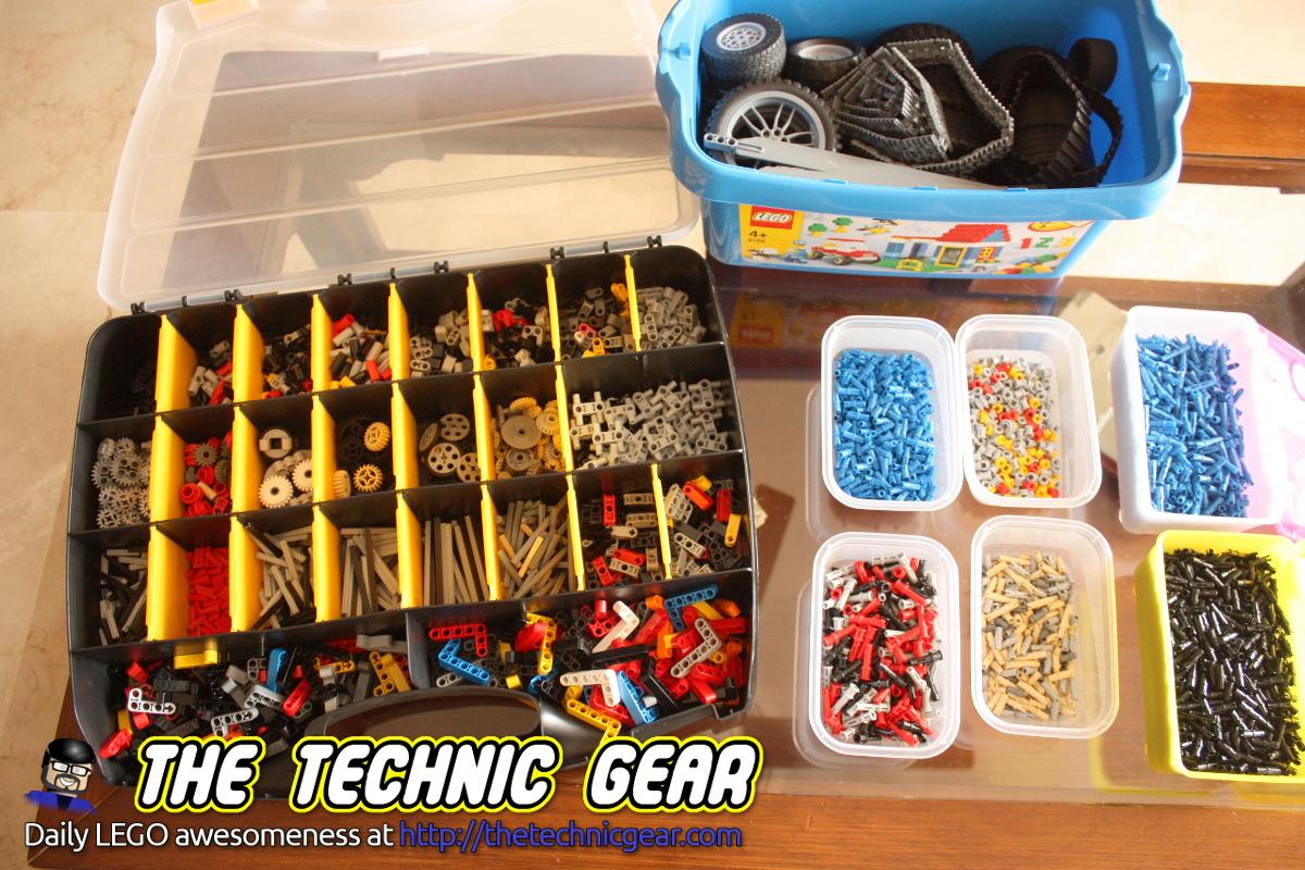 How to sort LEGO Technic bricks