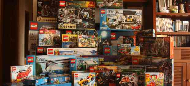 LEGO after Christmas