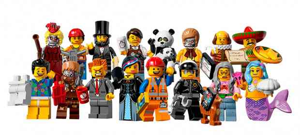 LEGO The Movie Minifigs