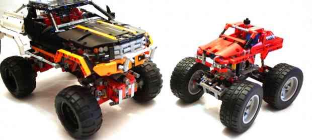 LEGO Technic 42005 Monster Truck Review