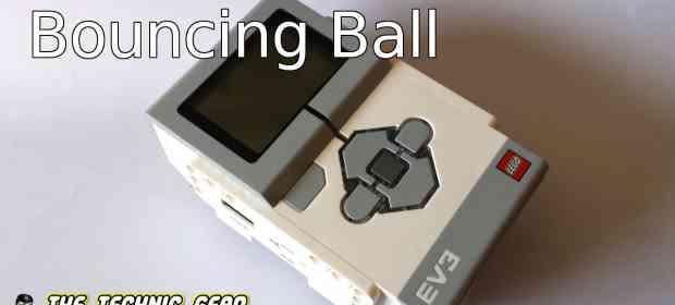 EV3 App: Bouncing ball