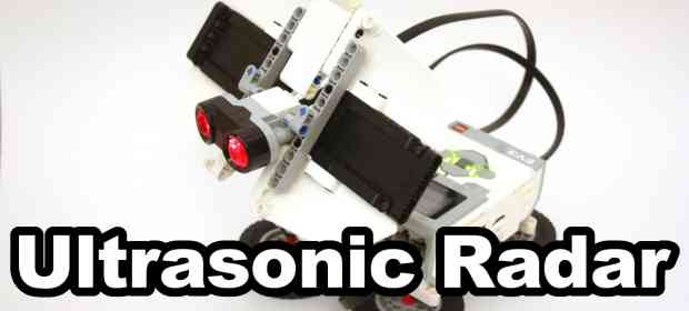 Building a short-range Radar with LEGO Mindstorms