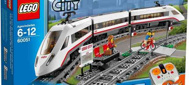 LEGO 60051 Passenger Train Review