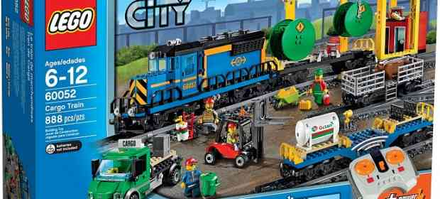 LEGO 60052 Cargo Train Review