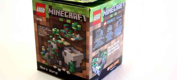 LEGO Cuusoo 21102 Minecraft The Forest
