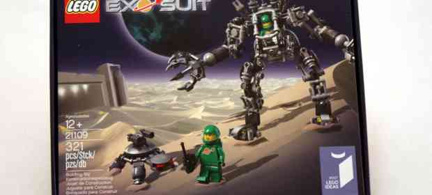 LEGO Ideas 21109 Exo Suit Review