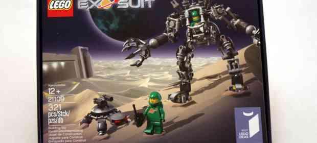LEGO Ideas 21109 Exo Suit Review