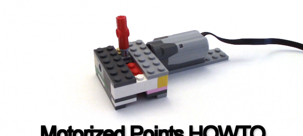 HOWTO Create a LEGO Motorized Train Points Track