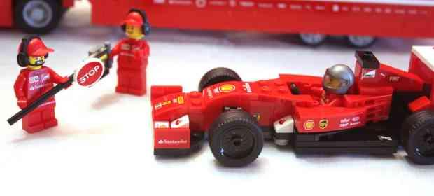 LEGO 75913 Ferrari F14 T & Scuderia Ferrari Truck Review